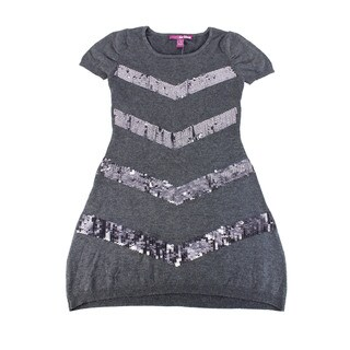 Epic Threads Girl's Grey Above-knee Dress