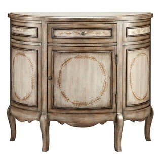 Laural Wood-Tone Accent Cabinet