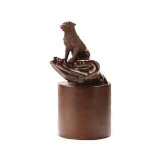 Companion Pet Chocolate Labrador Retriever Pet Urn