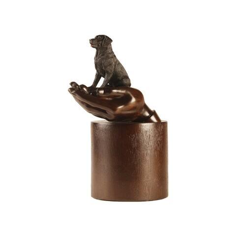 Companion Pet Black Labrador Retriever Pet Urn