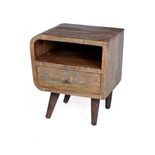 Orbit One Drawer End Table