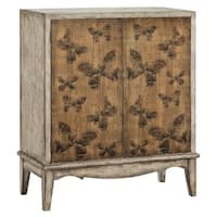 Meadow Gray Accent Cabinet