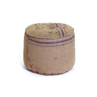 Potato Sack Ottoman