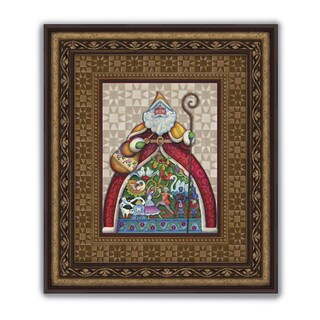 Versil Santa 19-inch x 22-inch Wall Art