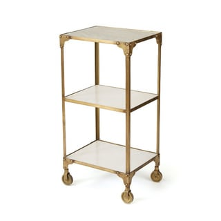 Hip Vintage 20670 Gold Iron 18.75-inch x 15-inch x 36.5-inch Ayden Side Table