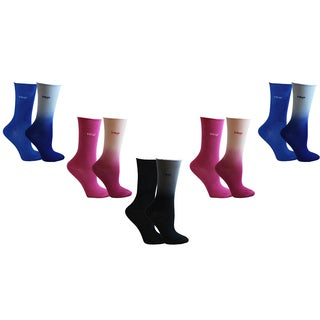 MINXNY Cotton Roll-top Socks (Pack of 10)