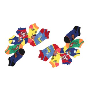 MinxNY Ladies' Mix and Match Pow Wow Socks (Pack of 12)