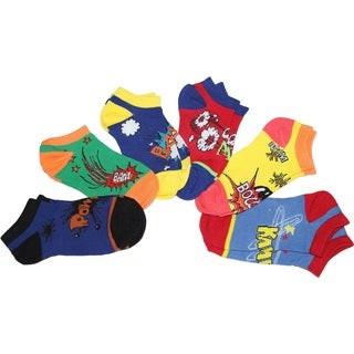 MinxNY Assorted Pow Wow Anklet Socks (Pack of 6)