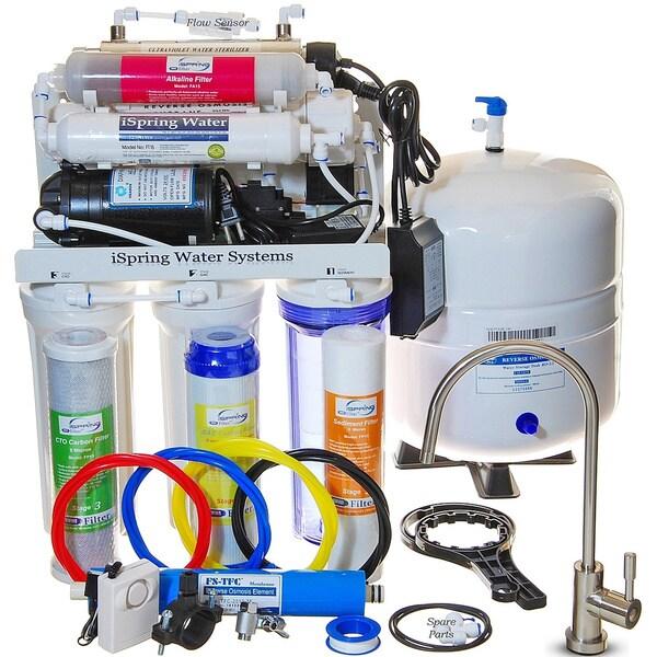 Ispring Rcc1up Ak 7 Stage 100gpd Reverse Osmosis Water