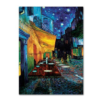 Vincent van Gogh 'Cafe Terrace' Canvas Art