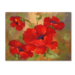 'Poppies' Canvas Art