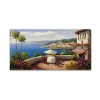 Rio 'Italian Afternoon' Canvas Art