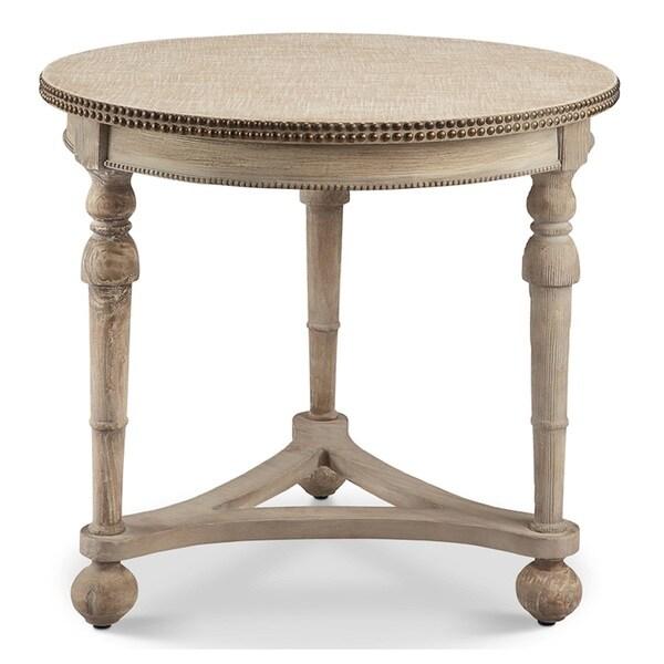 Wyeth Cream Accent Table