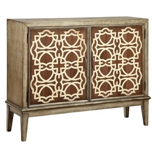 Veranda Wood-Tone Accent Cabinet