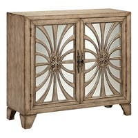 Pope Wood-Tone Accent Cabinet