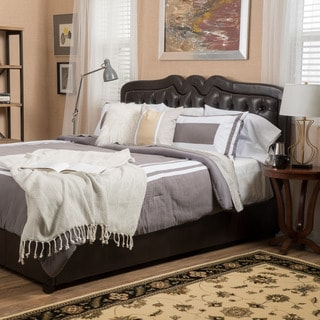 Christopher Knight Home Selby Bonded Leather Queen Bed Set