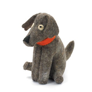 Multi-color Fabric Doggy Door Stopper