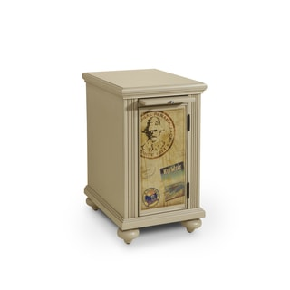 Panama Jack High Tide Post Marks Accent Cabinet