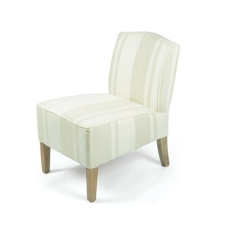 Hip Vintage 15895 Beige Fabric-upholstered and Wood 22.5-inch x 18-inch x 28-inch Ridley Chair