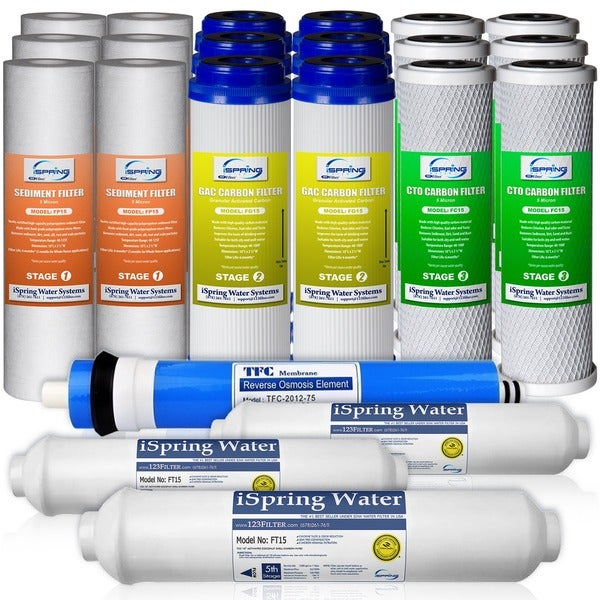 5 stage reverse osmosis replacement filters apec ispring f2275 3year replacement filter set for 75gpd 5stage reverse shop