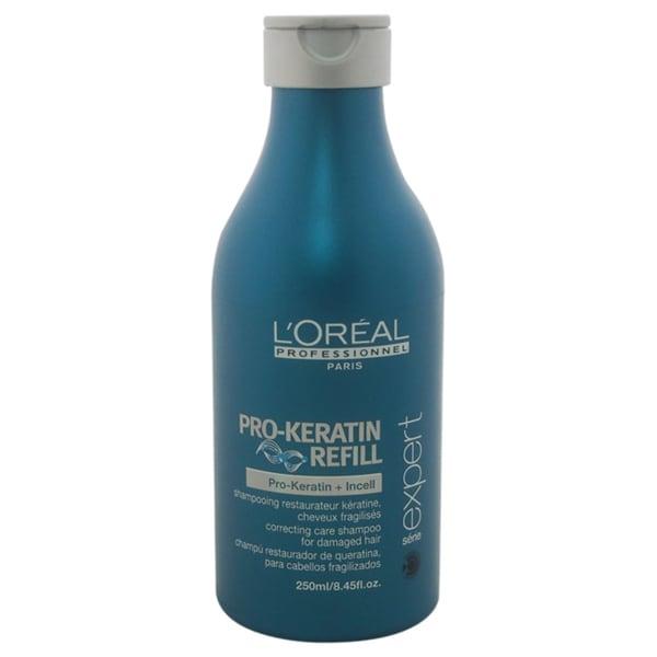 L'Oreal Professional Serie Expert Pro-Keratin Refill Correcting Care 8.45-ounce Shampoo