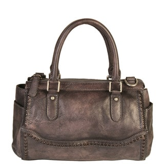 Link to Diophy Grey Leather Double Handles Handbag Similar Items in Shop By Style