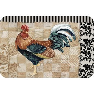 Counterart Reversible Plastic Wipe Clean Placemats - Bergerac Rooster (Set of 4)