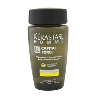 Kerastase Homme Capital Force Daily Treatment Shampoo Vita-Energising Effect Men's 8.5-ounce Shampoo