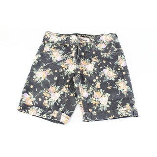 SGI Fashion Girl's Imperial Star Black Cotton Size 10 Shorts