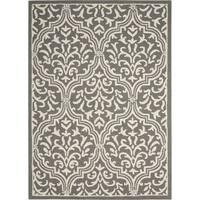 Nourison Linear Grey/Ivory Rug