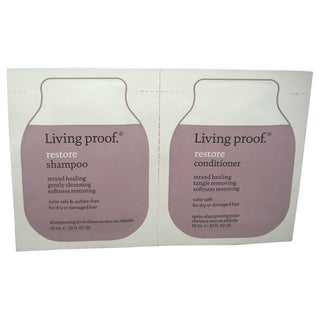 Living proof Restore 0.33-ounce Shampoo & Conditioner Set