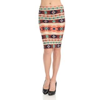 Women's Pattern Pencil Skirt