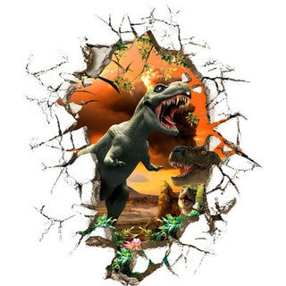 'Breakthrough Dinosaurs' 24-inch x 28-inch Removable Wall Graphic