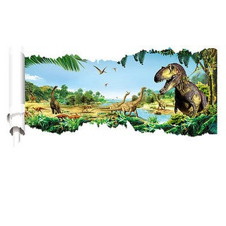 DinoWalls T-Rex Dino Country Pennant Banner