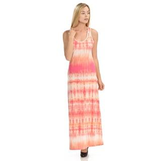 Women's Tie-dye Maxi Dress