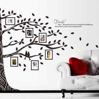 Tree Full of Frames' 24-inch x 36-inch Removable Wall Graphic