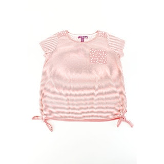 Epic Threads Girl's Pink Top (Size XL U.S.)