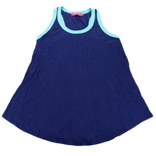 Me.N.U Girls' Blue Size L US Top