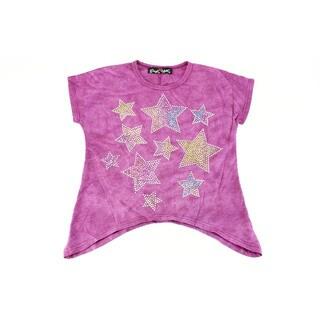 Paper Hart Girls' Purple Size 4 Top