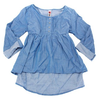 Beautees Girl's Blue Top