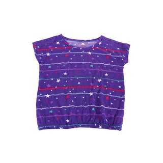Epic Threads Girls' Purple Size 6X US Top