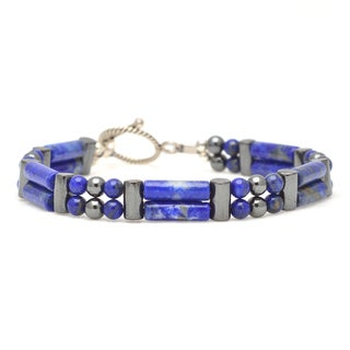 Healing Stones for You Lapis Lazuli Double Power Bracelet 'Control your Destiny'