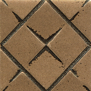 Matterix City Bronze Metal Resin Tile (1 Piece)