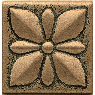 Bedrosians Jasmine Bronze Metal Resin Tile (1 Piece)