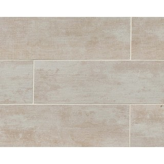 Vintage Alabaster Porcelain Tile (Pack of 12 Tiles)
