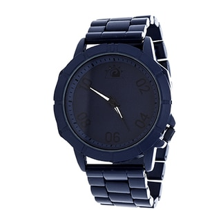 Zunammy Men's Blue Case and Dial / Blue Alloy Strap Watch