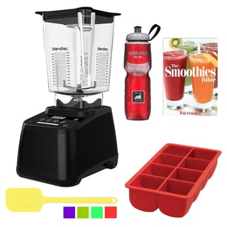 Blendtec WildSide Designer 625 Blender Accessory Bundle, Black