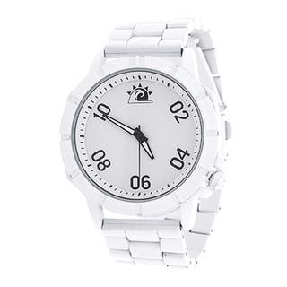 Zunammy Men's White Case and Dial / White Alloy Strap Watch|https://ak1.ostkcdn.com/images/products/11983949/P18864900.jpg?impolicy=medium