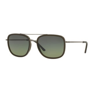 Burberry Men's BE3085Q 10083Y Gunmetal Metal Square Sunglasses