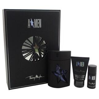 Thierry Mugler Angel Men's 3-piece Gift Set